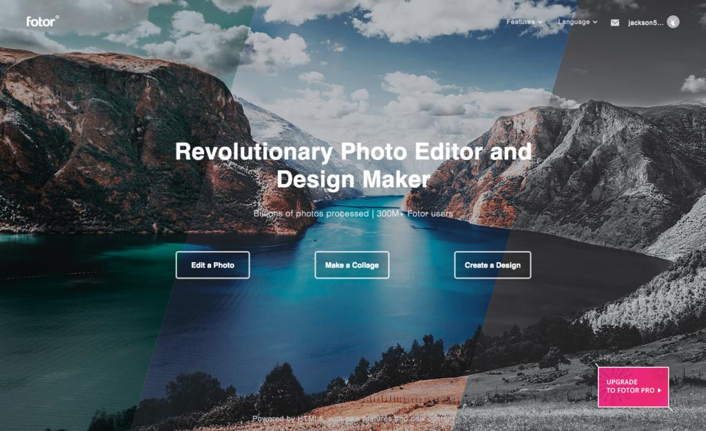 画像作成ツール「Fotor」が無料で簡単に使えて便利!